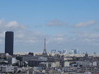Superbe vue sur Paris - Place d'Italie