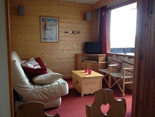 Appartement classé 3* à Méribel Mottaret - au cœur des 3 Vallées - WI-FI INCLUS!