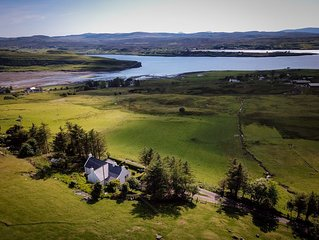 Taigh Dolag.  Skye Holiday house, central  location with stunning views.
