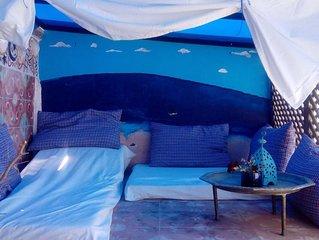 Casa marroquí con dos terrazas, IDEAL PAREJAS!!