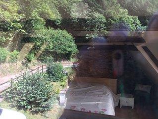 Maison cosy dans un ecrin de verdure