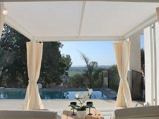 Maison architecte ZEN, luxe, vue, calme, Provence Ardèche, Uzès, Avignon, Arles