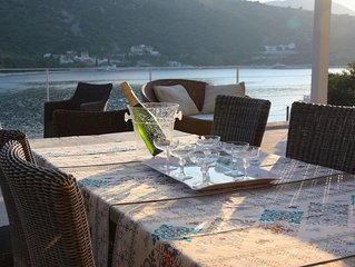 Luxury seafront Villa in Kassiopi
