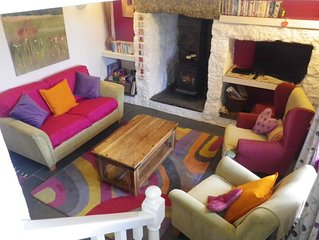 Characterful cottage for outdoor lovers, close to stunning coastline