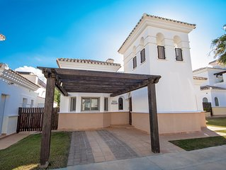 South Facing Villa With Private Heated Pool.