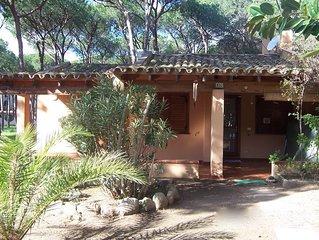 Villetta con giardino a 100 metri dalla spiaggia - 500 metri dal Forte village.