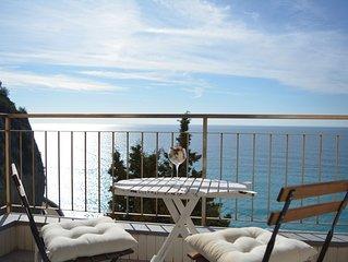 Appartamento a 150 metri dal mare con meravigliosa vista
