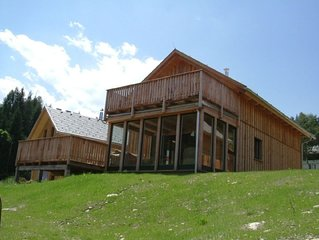 Family chalet with FREE WIFI. Ideal for a relaxing summer or ski holiday break