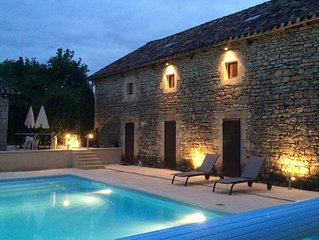 Converted Barn With Private Pool