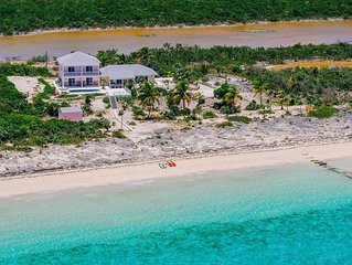 Stunning new Beach front Villa with private pool