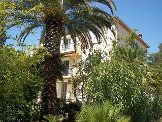 St Raphaël BOULOURIS 250m plages Appartement 2/5 pers 85M2