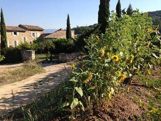 Vacances en Luberon Maison avec jardin