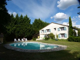 Beautiful 2 Bedroom, With En-Suite, Gite, Close To Duras, With Stunning Views