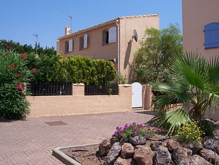 Villa ideal for family and only 10 minutes walk to Richelieu beach