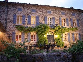 Stunning maison de maitre on the edge of a village in the Tarn SW France