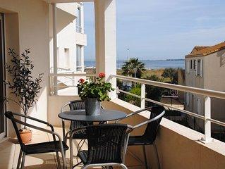 Lägenhet i charmiga byn Marseillan