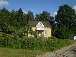 Typische Schwedenvilla