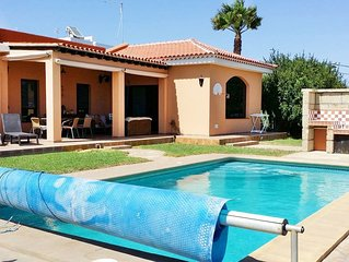 -Villa Savannah- privater Pool / Whirlpool, Meerblick, Playa Tejita, ruhige Lage