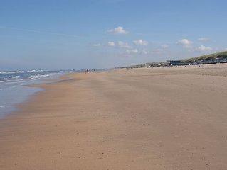 Gemütliches Ferienhaus  mit Strand, Dünen und Tulpenfelder in der Umgebung