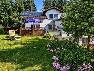 Moderne Ferienwohnung mit großem Garten und Terrasse im Allgäu für 6 Personen