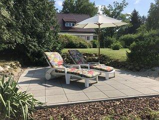 Villa Seeidyll   Ferienhaus Am See mit Sauna