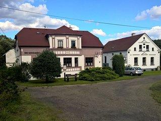 Wir vermieten Ihnen unseren Ferienwohnungen oder Ferienhaus Hof Schwanberg