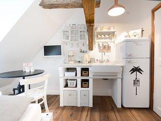 Traumhafes Gipfelstübchen - Studio Wohnung -  im Herzen von Bamberg