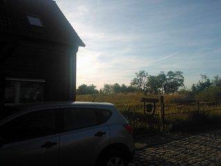 grosse komfortable Ferienwohnung nahe Quedlinburg und Thale