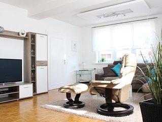 Komfortabeles modern  renoviertes Fachwerkhaus-familienfreundlich