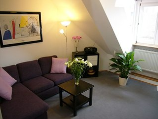 Ruhiges Apartment in Jugendstilhaus im Zentrum, 44 m², 2 Pers. ab 49.-€