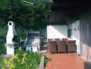 Ferienhaus Casa Marina im Naturschutzpark über dem Gardasee