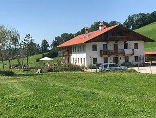 gemutliche Ferienwohnung auf renovierten Bauernhof im 'Meran von Schliersee'