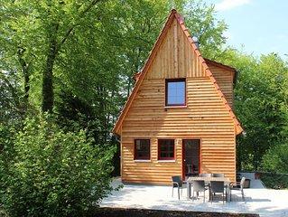 Komfortables Ferienhaus mit Charme, direkt zwischen See und Wald gelegen