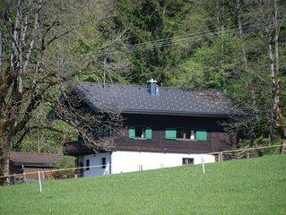 Gemütliches familienfreundliches Ferienhaus direkt am Ski-/Wandergebiet