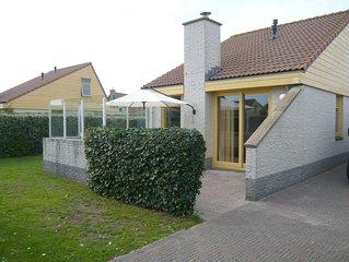 Ferienhaus Strandslag 308 direkt am Meer im Ferienpark Strandslag Julianadorp.