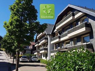 GLUCKSKLEE am Fusse des Bocksberg - Zentral Modern Gemutlich (60qm, 3 Balkone)
