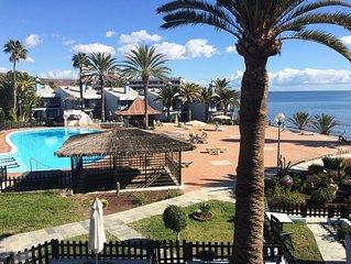 Gemutliches Apartment mit Meerblick - nur wenige Meter vom Strand entfernt!