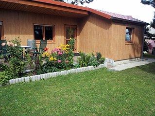 Ferienhaus am Rande der Stadt zentral gelegen aber trotzdem im Grünen