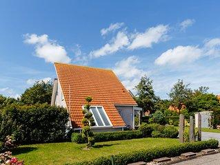 neu renoviertes Bad, schoner Garten 5* Ferienhaus, Park Zeeland Village, WLAN