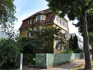 3 Zimmer-Jugendstilwohnung in Schlossnahe