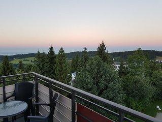 Perfekter Familienurlaub im Bergwald: ruhig, sauber & mit fantastischer Aussicht