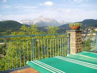 Familienfreundliche Ferienwohnung, bis 6 Personen, herrliche Terrasse & Ausblick