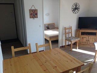 Appartement au centre de la station Valmeinier 1800 à  150 mètres des pistes