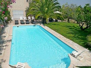Appartement de charme dans propriete provencale avec piscine, oliviers, figuiers