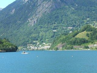 Vaujany / alpesd'huez, Ski , velo (marmotte /  alp'd'huze ) 20km col glandon