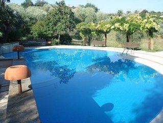 Maison  avec piscine pres de Rome 9 couchages