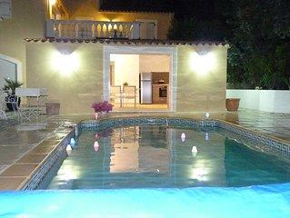 A 10mn de la Croisette Superbe rez-de-jardin avec piscine individuelle