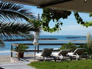 Maison sur la Plage  ,  Superbe Vue  Mer Panoramique  ,  Cap d'Agde