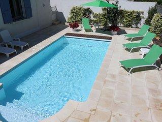 Charmante maison au CALME spacieuse 4 pers piscine sécurisée clim wifi