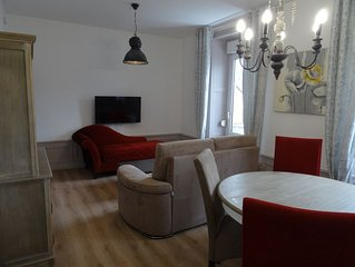 A Gerardmer, centre ville, proche lac, loue appartement 4 personnes 43m2